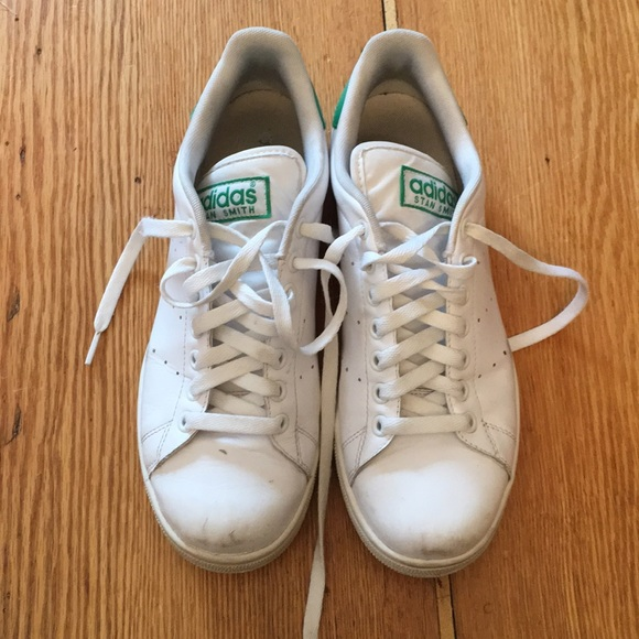 super popular 9acf3 f3e2b adidas Shoes - White Adidas Stan Smith Sneakers